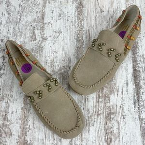 HOUSE OF HARLOW Shayla Beaded Moccasins